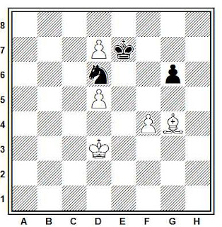 Problema ejercicio de ajedrez número 833: Ivanchuk - Antonio (Olimpiada, 1988)