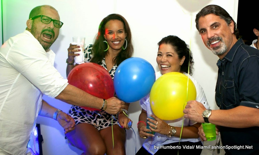 Socialite Jonathan Torres celebrated his birthday at the luxurious Platinum Condo in Miami