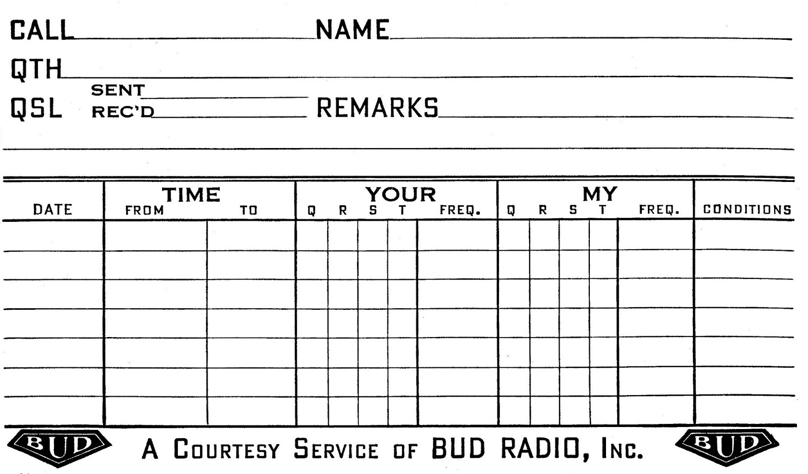 1979 amateur radio logs