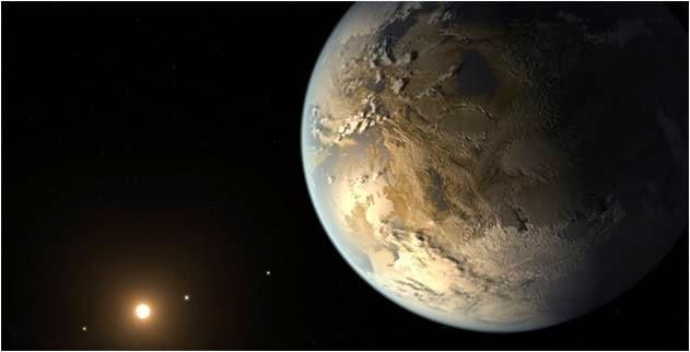 La NASA encuentra vida extraterrestre en un planeta muy similar a la tierra. El planeta está habita