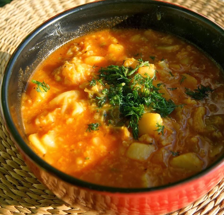 Zupy jarzynowe z kaszą jaglaną na ostrą nutę