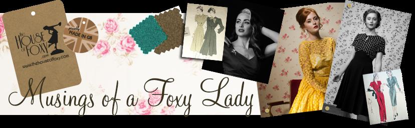 Musings of a Foxy Lady