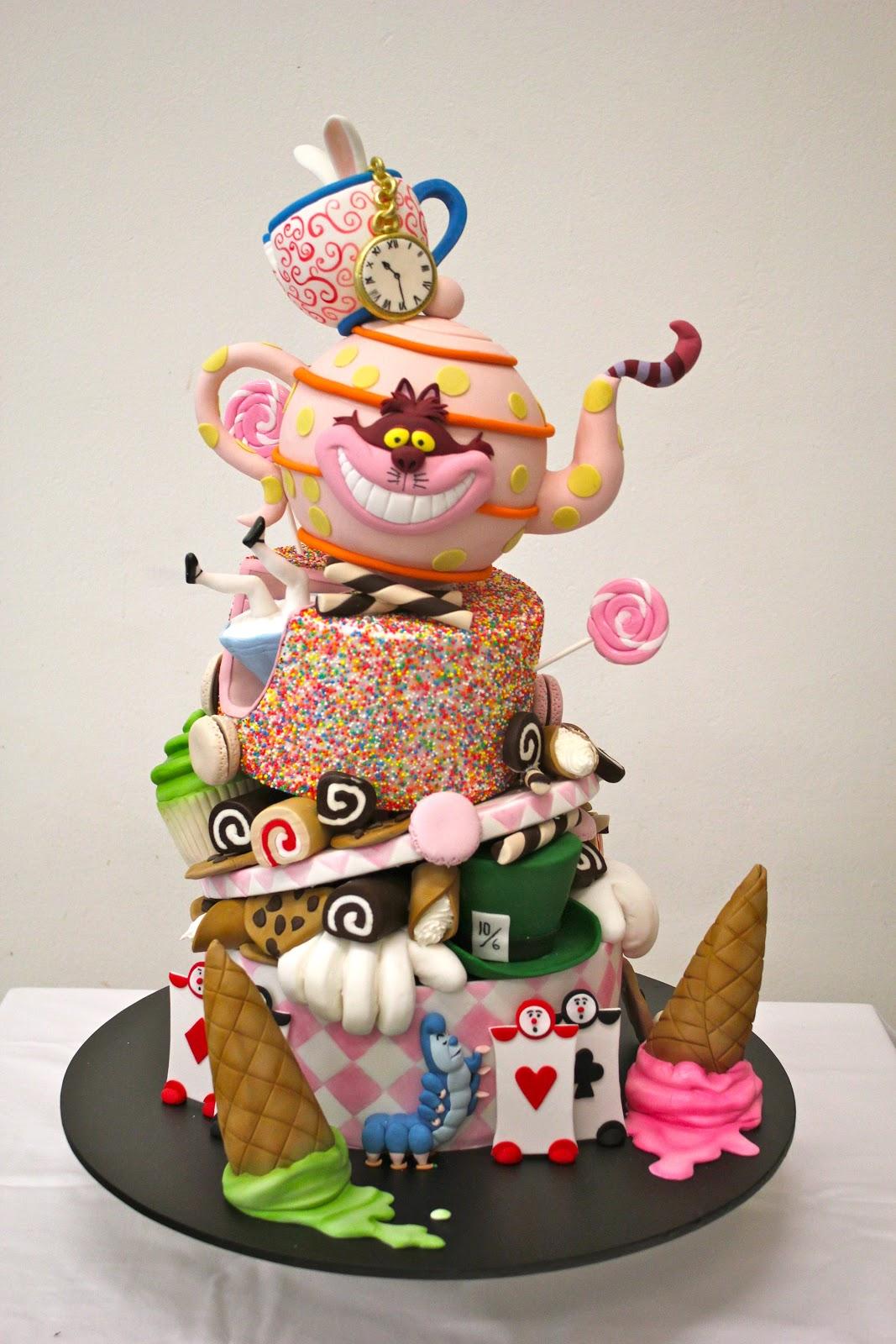 Handis Cakes Tea Party Cake