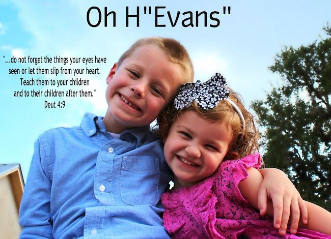 "Oh H""Evans""!"