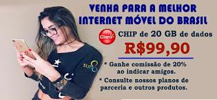 EMPRESA LANÇA CHIP DE 20 GB