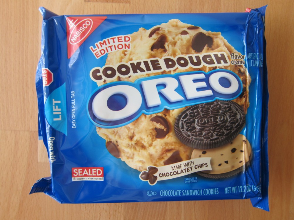 Cookie Dough Oreos are one of two new limited-time flavors for the    Cookie Dough Oreos