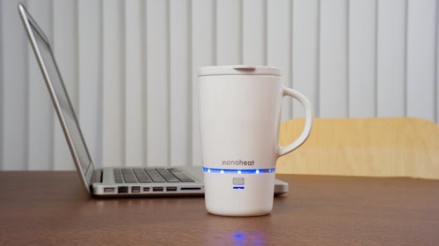 Must Have Gadgets for Bachelors - Nano Wireless Heated Cup
