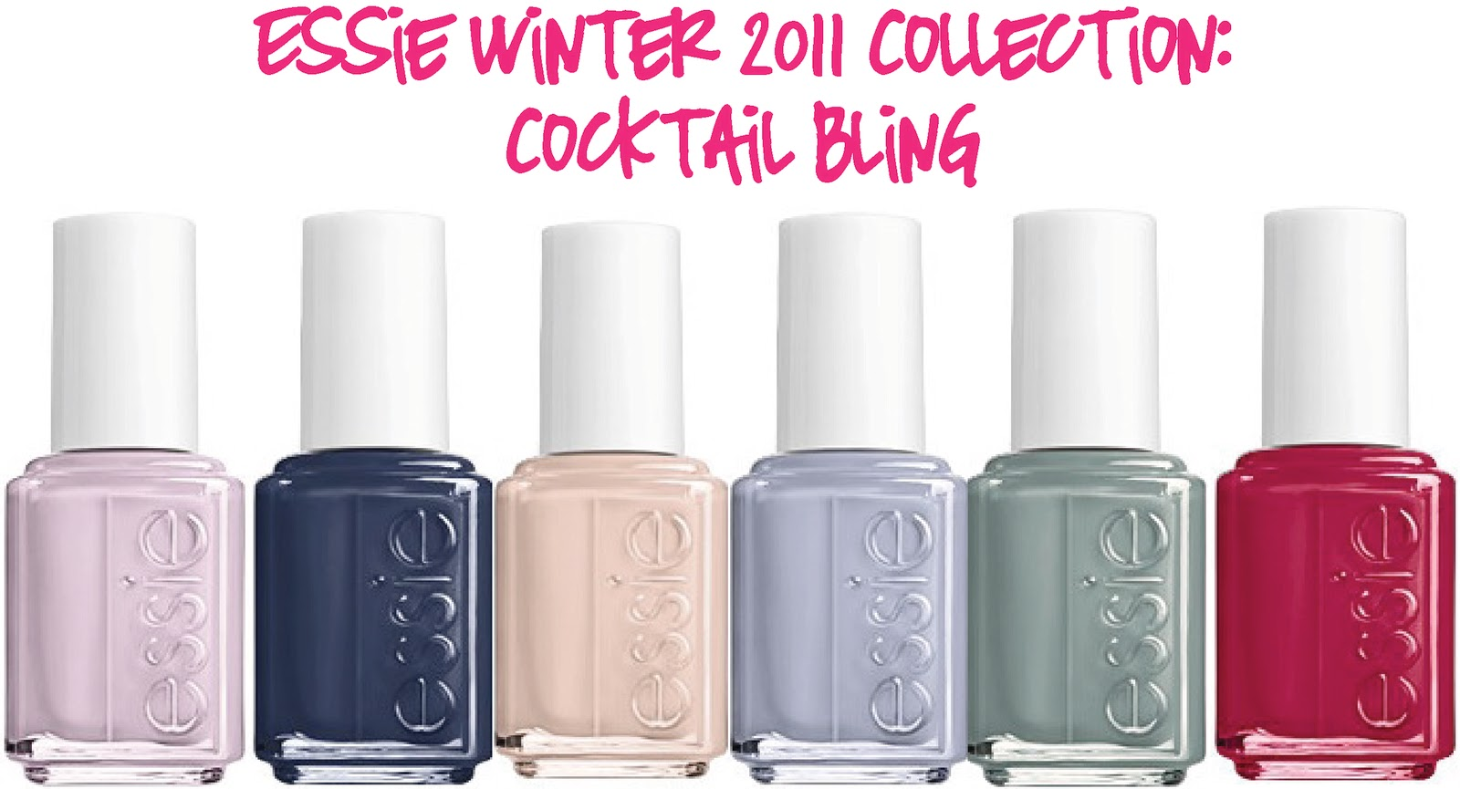 Stylish Winter Nail Polish Collection: Essie \