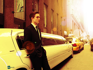 Robert Pattinson Limouzine Sunlights HD Wallpaper