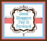 Good Bloggers Pay It Forward Award!