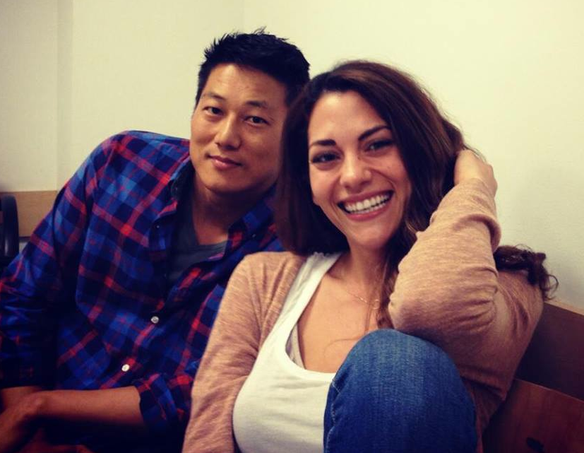 Sung Kang with beautiful, Wife Miki Yim
