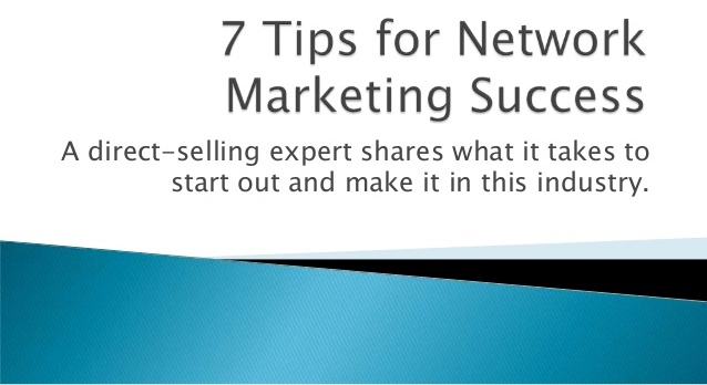 Get Expert In Network Marketing...