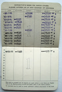 The old savings passbook