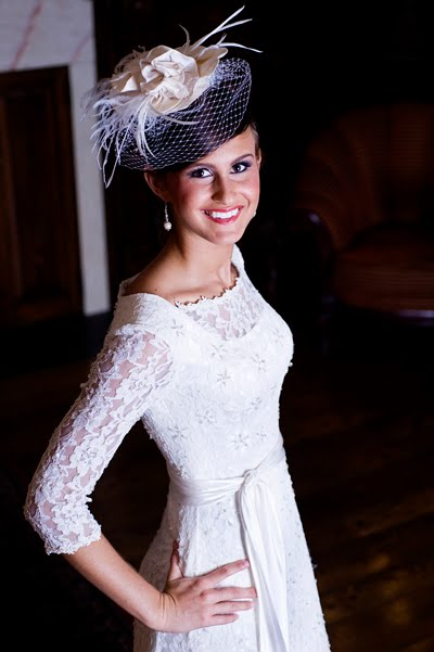 Couture Modest Lace Wedding Dress