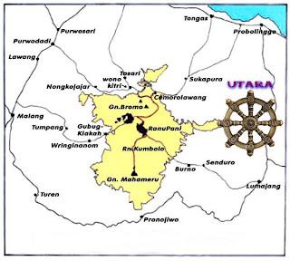 Rute dan Jarak Menuju Gunung Bromo