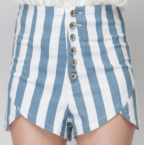 Highwaist Tulip Shorts