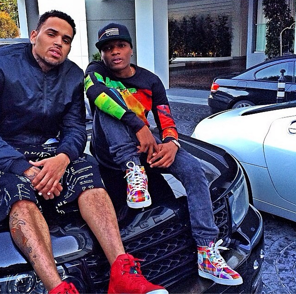 Wizkid still chilling with Chris Brown (Photos) 2