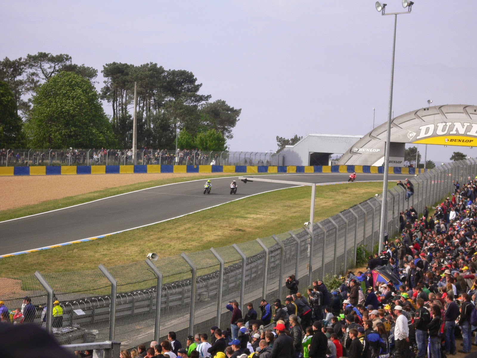 carrera de MotoGP en Le Mans