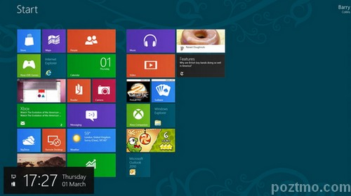 windows 8 desktop metro tiles interfaces