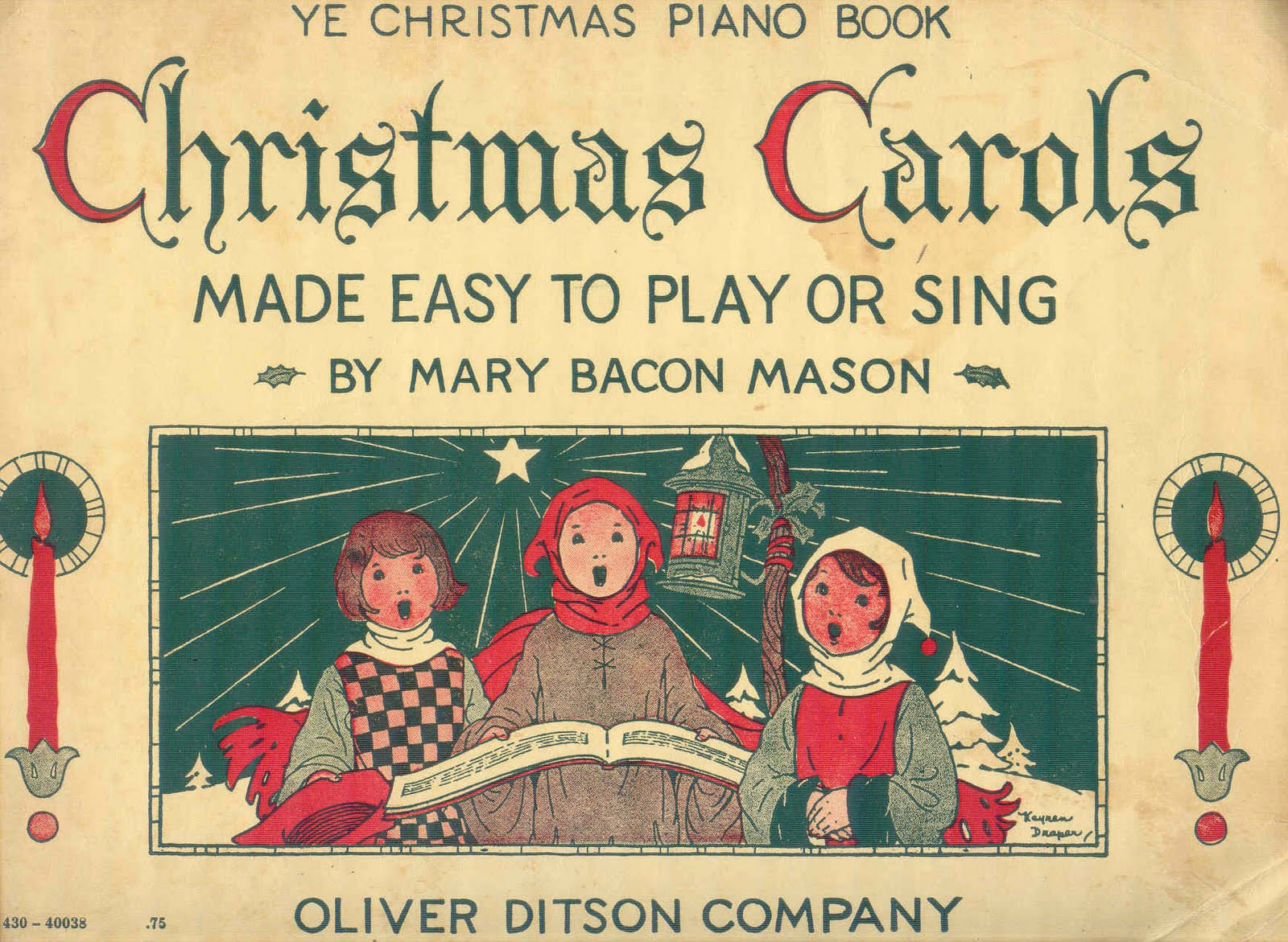 christmas songbook with chords