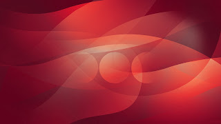 Red Abstract Rays wallpaper