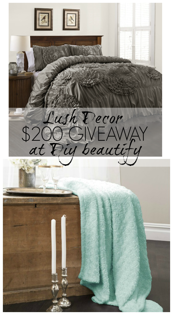 win $200 to spend at Lush Decor