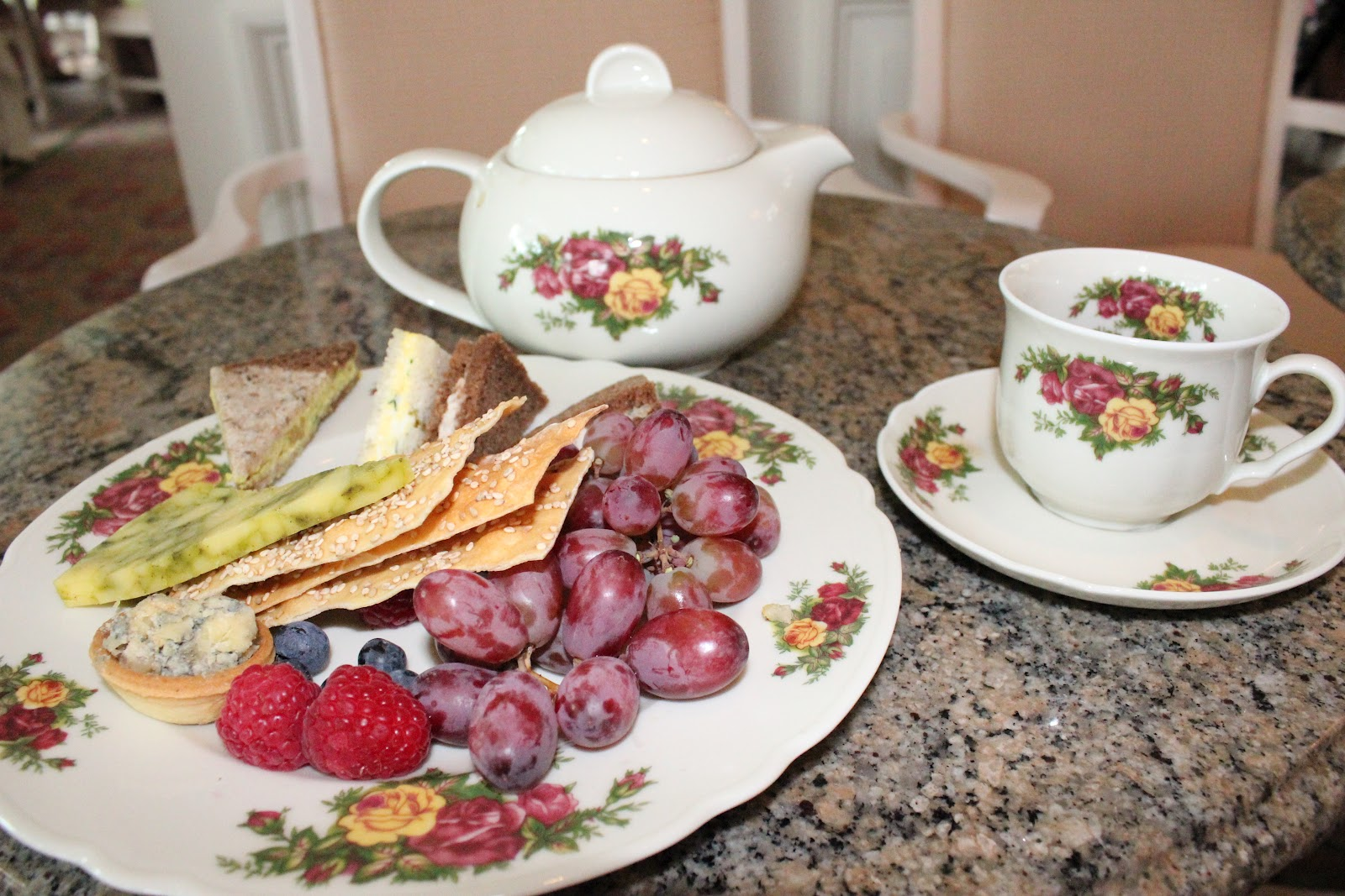 It takes a family to raise our family day 7 high tea