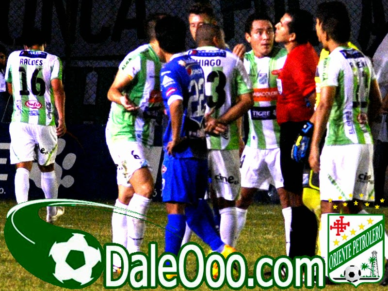 Oriente Petrolero - Ronald Raldes - Oriente Petrolero vs San José - DaleOoo.com sitio del Club Oriente Petrolero