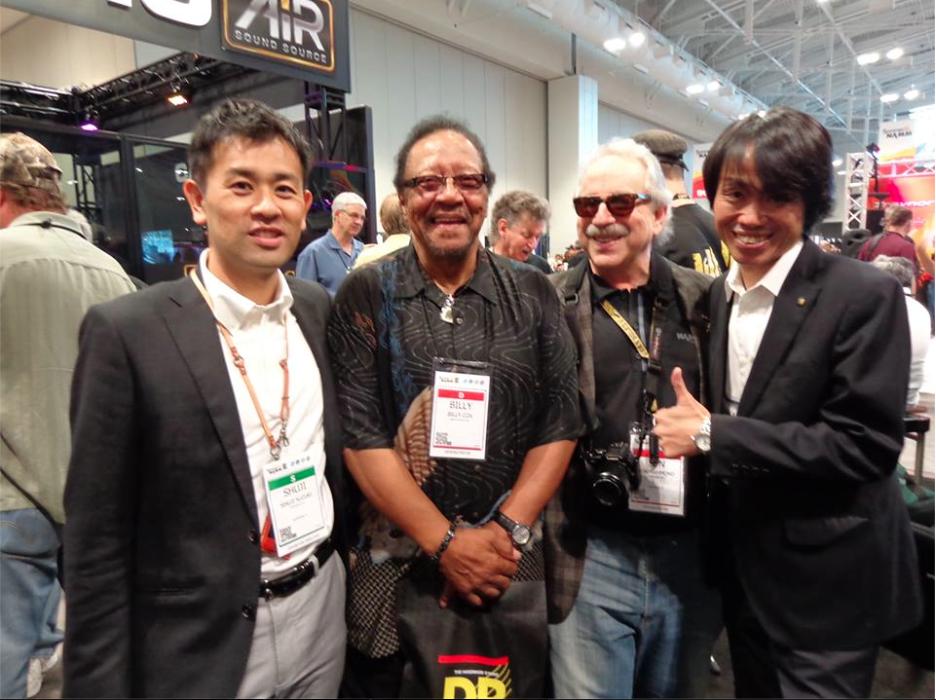 Jon Hammond, Yu Beniya Corporate Officer at Suzuki Musical Instruments
