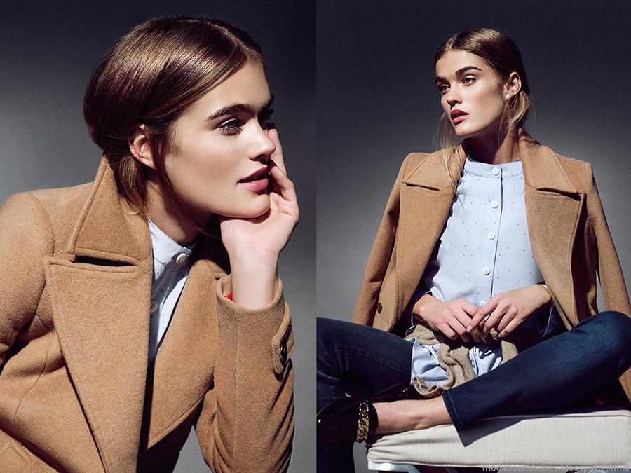 Tapados invierno 2015 moda mujer Clara.