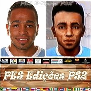 Álvaro Pereira (São Paulo) e Uruguai PES PS2