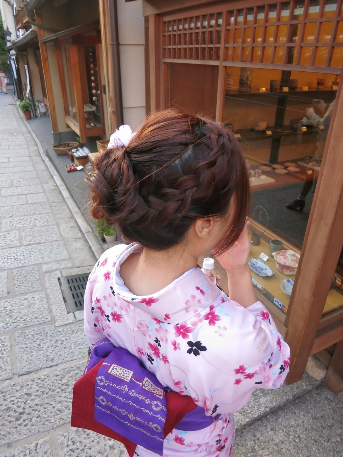Kimono Experience at Kyoto, Japan