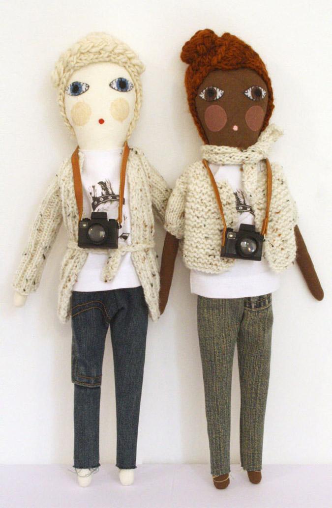 photographer dolls by Severina Kids
