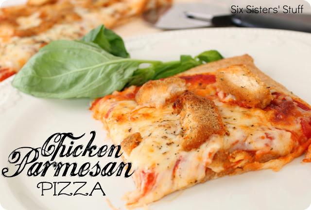 Chicken Parmesan Pizza Recipe | Six Sisters' Stuff