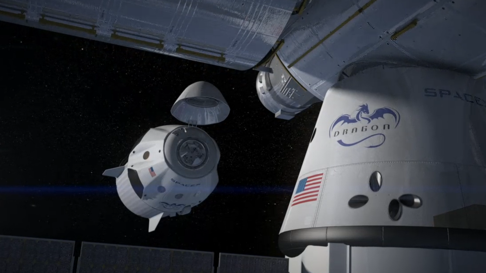 spacex dragon docking - photo #30