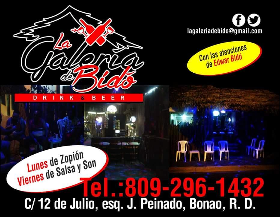 LA GALERÍA DE BIDÓ EN LA CALLE 12 DE JULIO, ESQ. J. PEINADO, BONAO