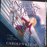 Adolescent Audio Adventures reviews Curse of the Arctic Star, book one Nancy Drew Diaries