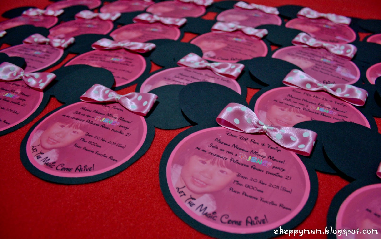 A Happy Mum Singapore Parenting Blog - Birthday invitation cards singapore