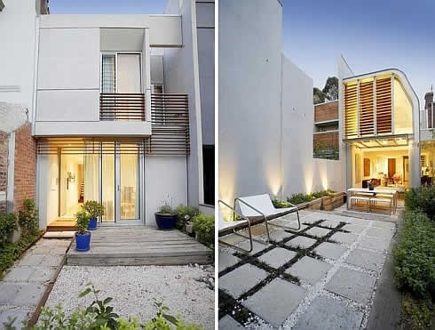 Modern Home Design on Modern And Luxurious Home Design In Fitzroy  Melbourne   Future Dream
