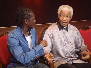 Emmanuel Jal, Nelson Mandela