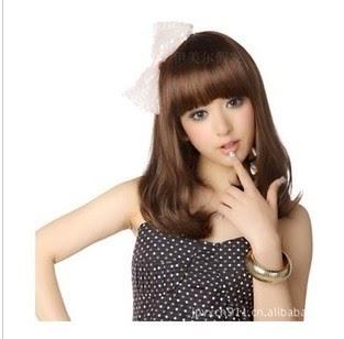 Model Rambut Wanita Sebahu Ala Korea 16