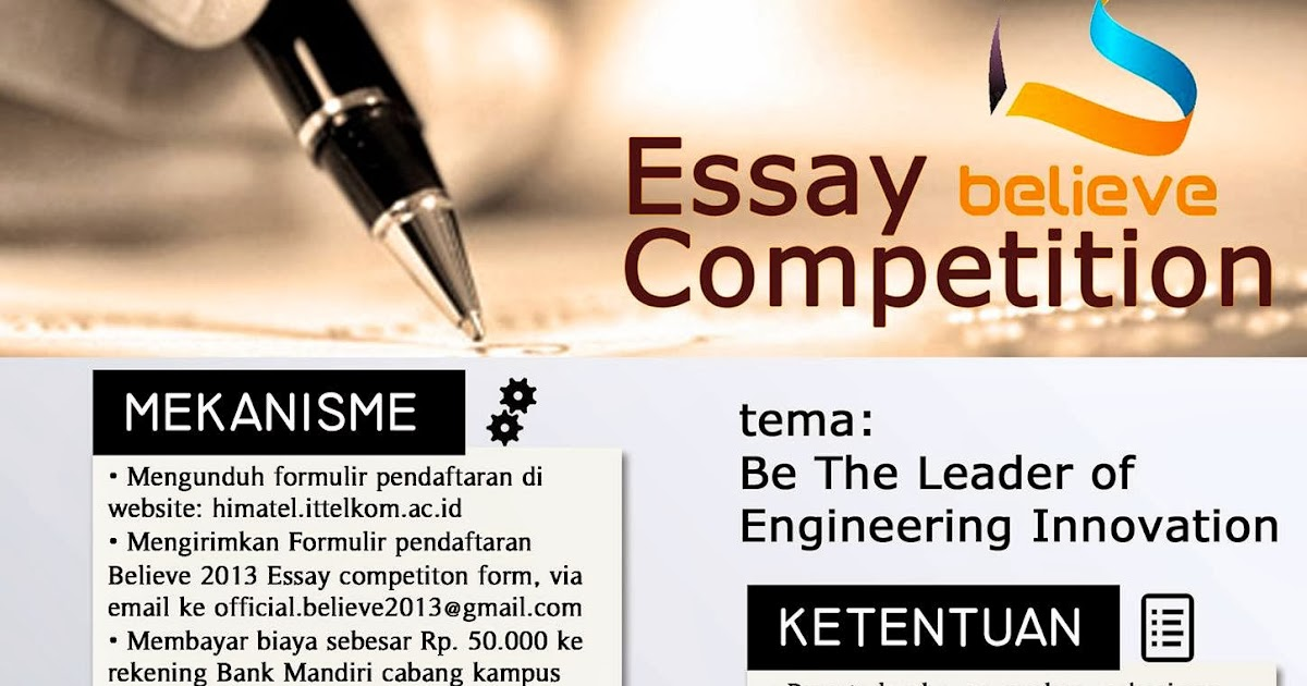 Info lomba essay