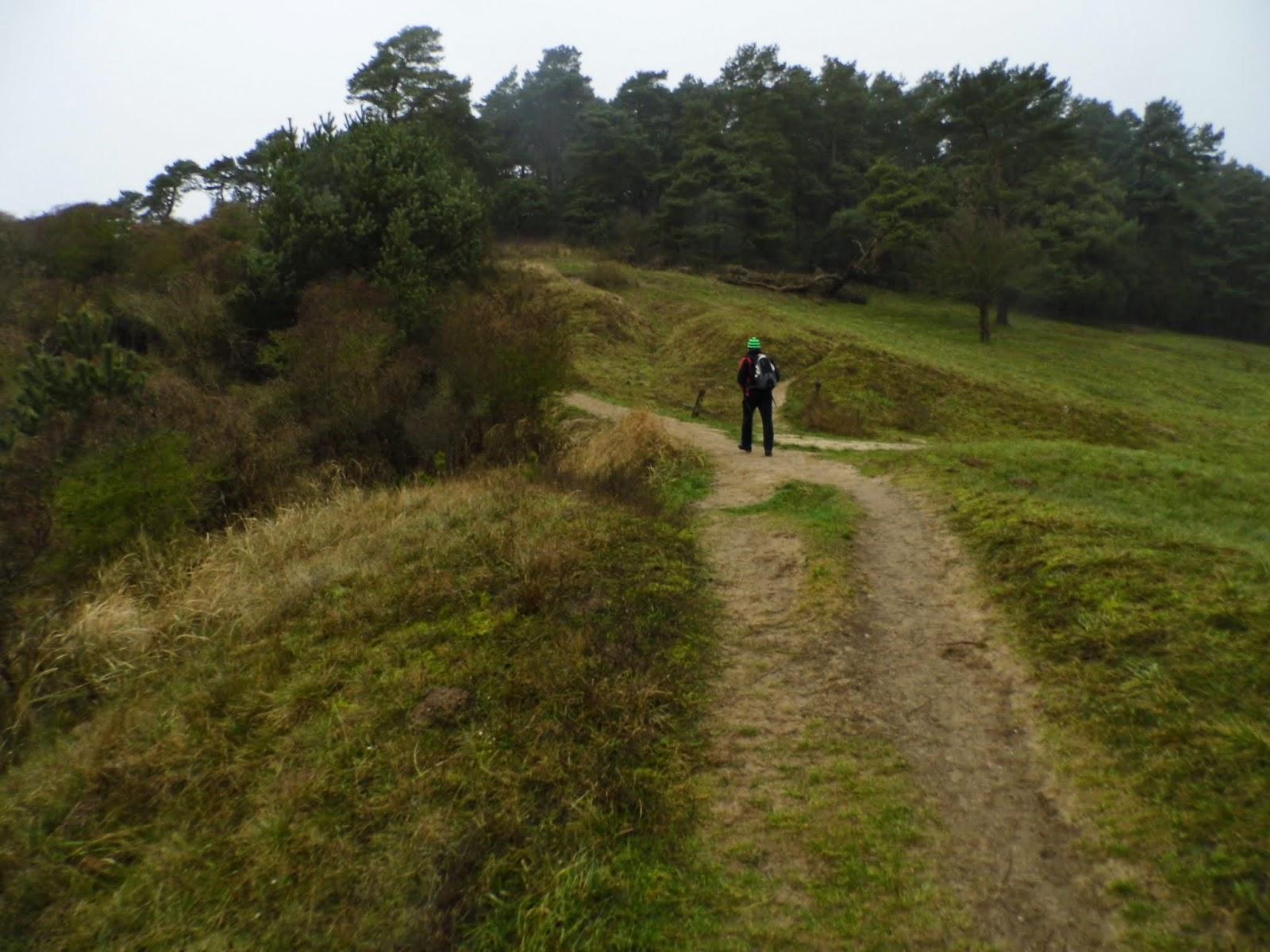 Axel MiSpi beim Aufstieg auf den Weißen Berg