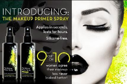 skindavia makeup primer sprays