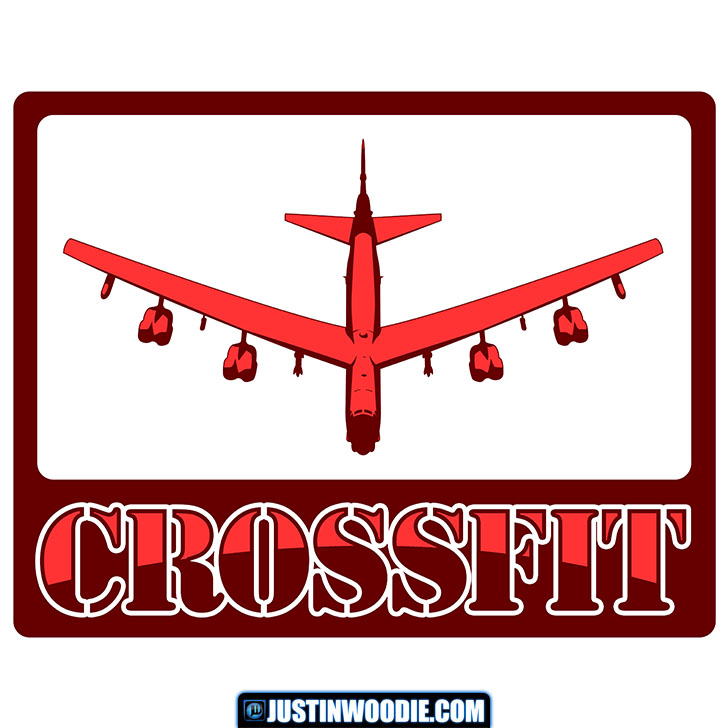 B-52 Bombers CrossFit Graphic Logo Design