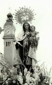 Virgen del Carmen en el puerto de Valencia.