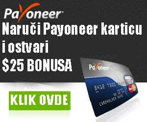 Payoneer kartica