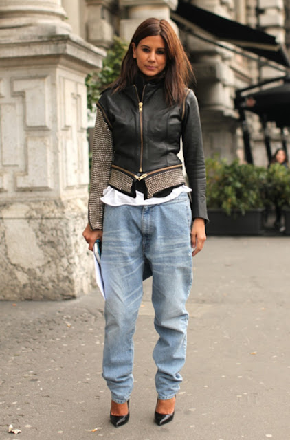 Christine Centenera: baggy jeans