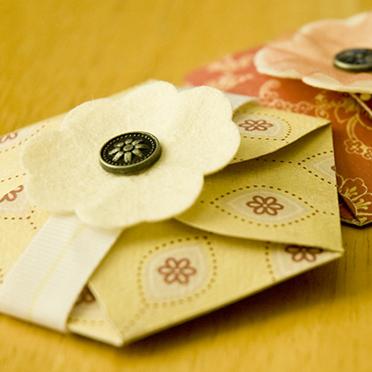 How To Make Paper Sachets