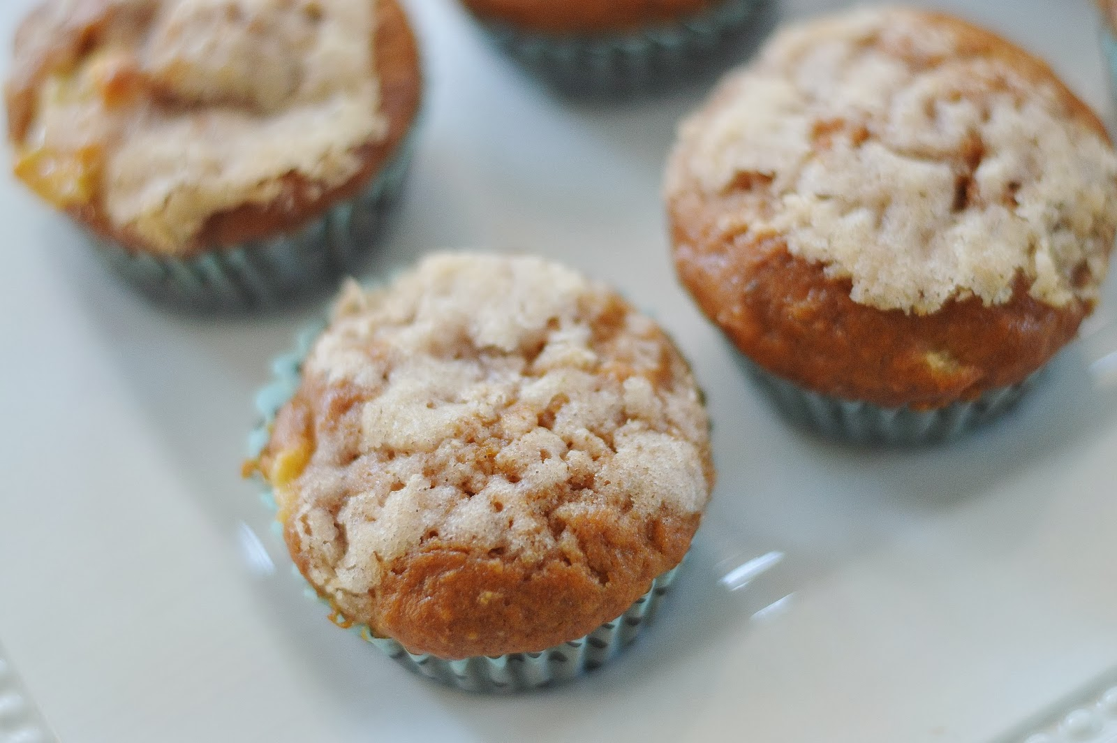 The Art of Comfort Baking: Pumpkin Apple Streusel Muffins